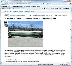 39 Carrera hull for sale at LOTO-39carrera.jpg