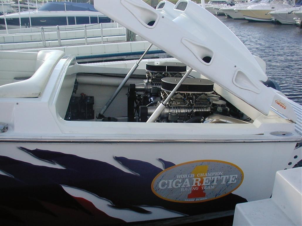 Cigarette Cafe Racer Boat