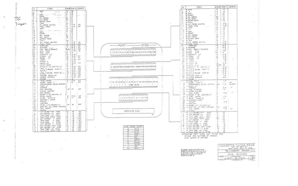 cigarette wiring schematics