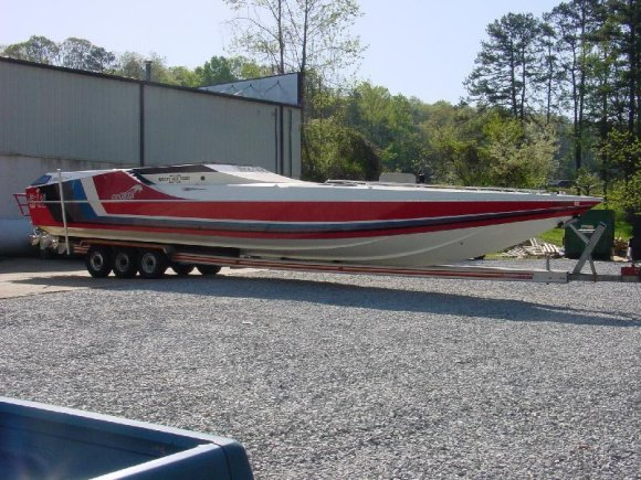Boats For Sale In Michigan >> 46' Cougar Restoration by Adrenaline Power Boats - Offshoreonly.com