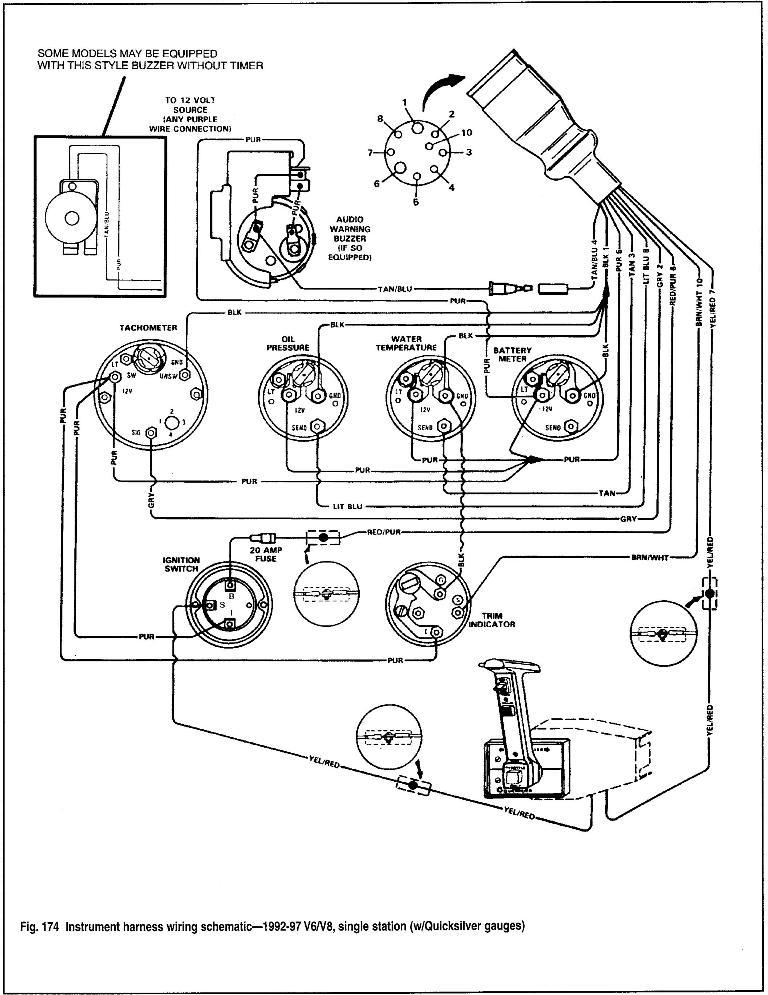 5 7 Mercruiser Engine Wiring Diagram Electrical Circuit Electrical