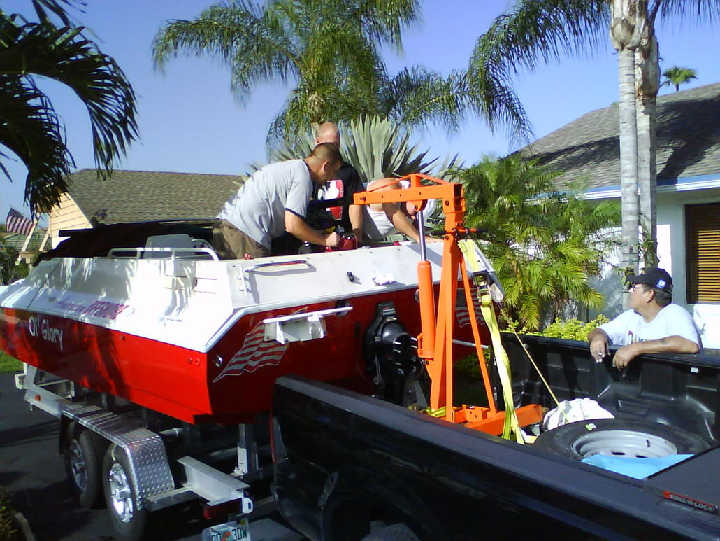 Take Over My Lease >> best way to pull motor out of the boat - Offshoreonly.com