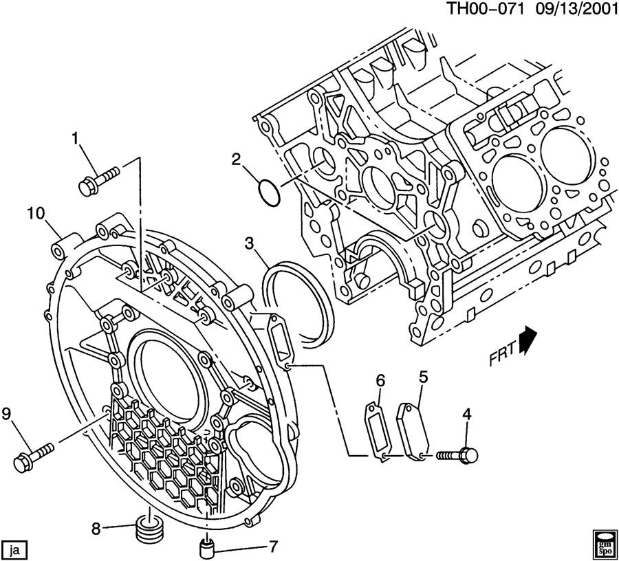 chevy 4 3 vortec engine diagram