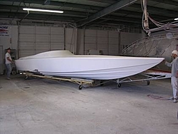 29 Extreme Pleasure Deck Mold is Born !!!-hull-pre-fit.jpg