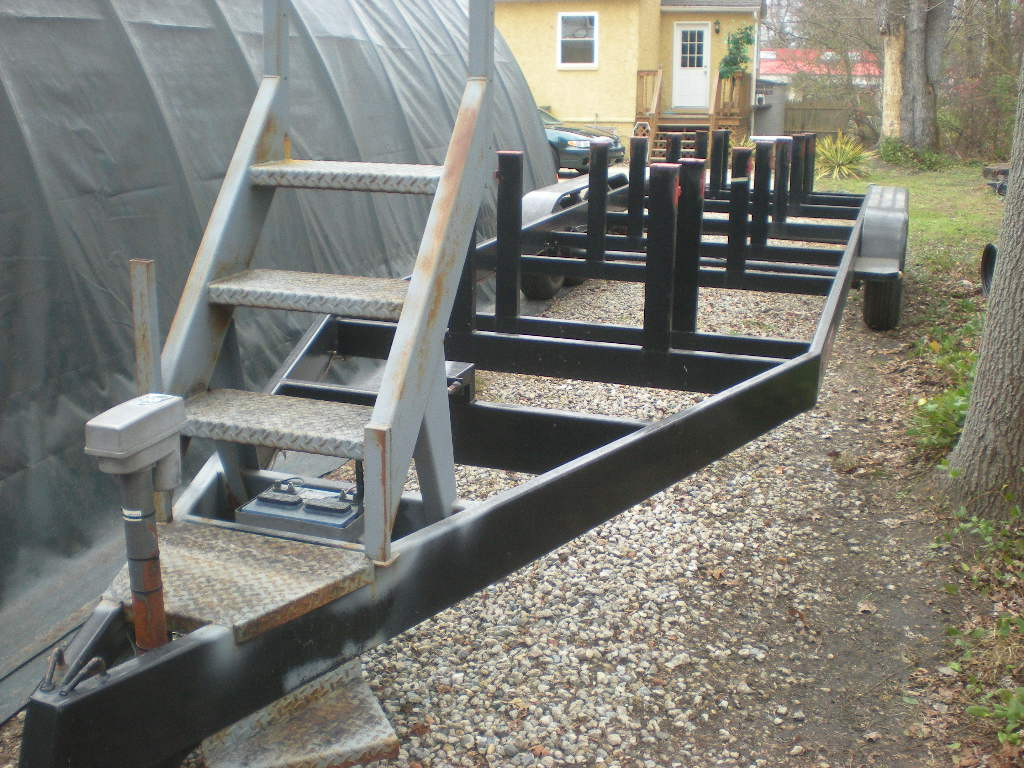 Painting Galvanized Trailer Offshoreonly Com