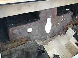 Transom replacement 1995 Webbcraft 252  Help Glass Dave-transom-ground-out.jpg
