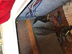 Transom replacement 1995 Webbcraft 252  Help Glass Dave-carpet-2.jpg