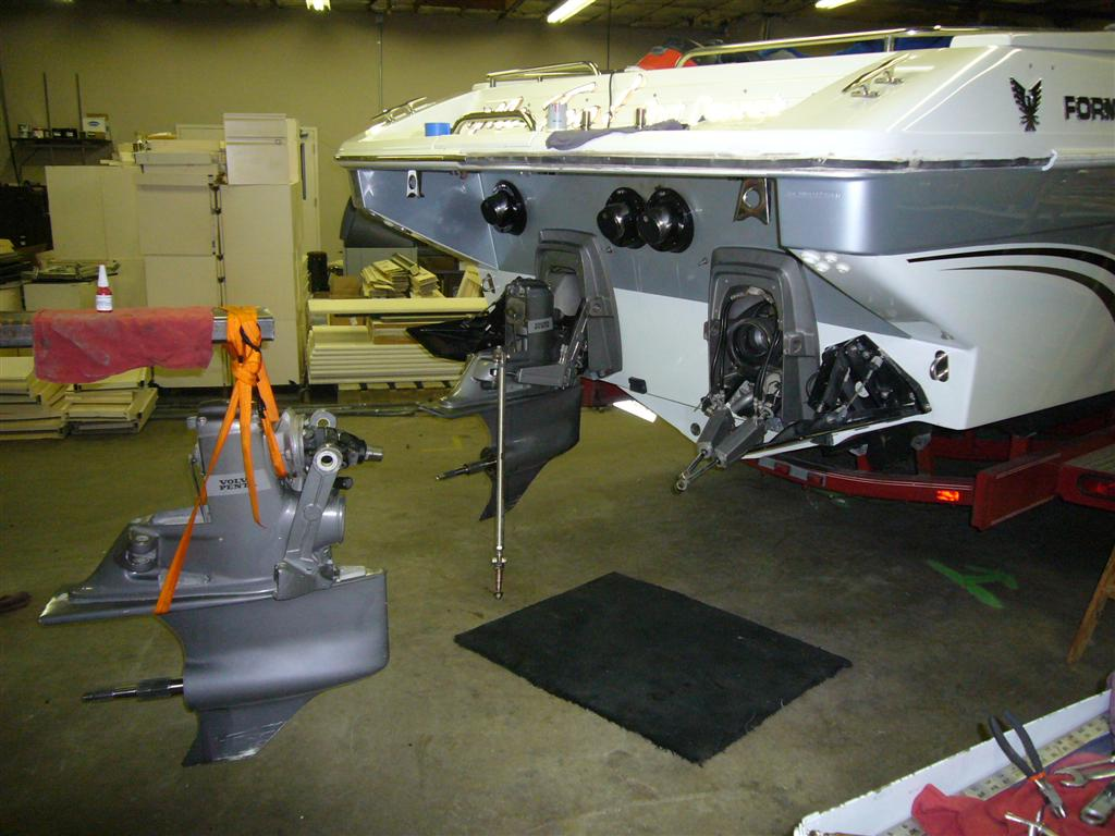 Volvo Penta DPX-A drive removal / service - Offshoreonly.com