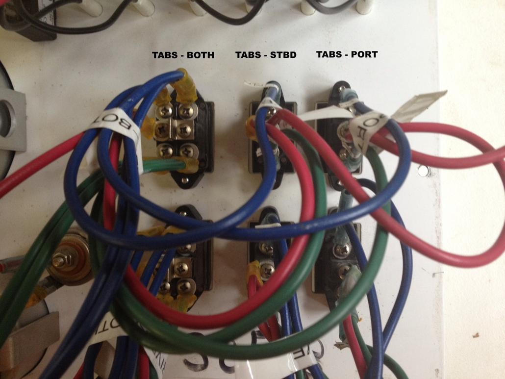 Trim Tab Wiring