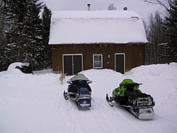 cabins, does anybody really use them?-cabin-snow-w-sleds.jpg