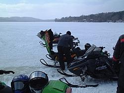 A little snow for my main man...-lake.jpg