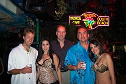 Miami Boat Show Thursday Night Get Together-guys-hot-waitresses....jpg