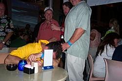 Miami Boat Show Thursday Night Get Together-craig-poking-fun-steve....jpg