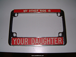 Wife needs a new front license plate...Again!-plate1.jpg
