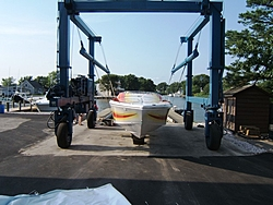 First Run On a New Donzi 35 ZR-front-view-sling.jpg