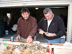 GLH Party Vs Ms P. Party-shucking-clams.jpg