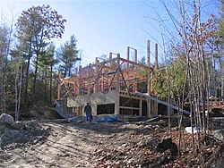 Show Me Youre Houses, Where You Park Your Boats!!-150-post-beam-going-up-nov-12th-small-.jpg