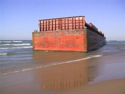Barge Hard Aground on Lake Michigan-barge-shore-003-small-.jpg