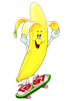 I hope this is ok I'm doing it for my son-banana-board.bmp