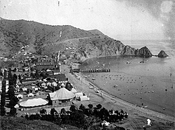 Catalina Island: Mom had an old picture.....when was this taken?-catalina-old.jpg