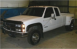 Need Help!!  Looking for a used 1 Ton 4x4!!-white-chevy-dually.jpg