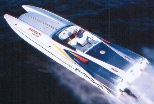 Hustler 377 powerboat for sale words