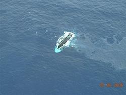 That sinking feeling. Yacht goes down in Bahamas-2statusofvesselonafternoonof02-07-06.jpg