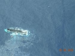 That sinking feeling. Yacht goes down in Bahamas-3statusofvesselonafternoonof02-07-06.jpg