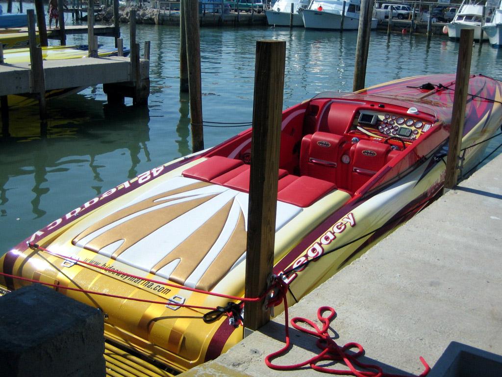 Floating reporter 2 26 05 miami boat show poker run - Miami boat show ...