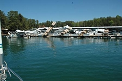 Two Docks Destroyed At Aqualand Marina, Lake Lanier, Ga.-damaged-boat-docks-001.jpg