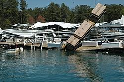 Two Docks Destroyed At Aqualand Marina, Lake Lanier, Ga.-damaged-boat-docks-003.jpg