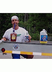 What's the best Spray and Wipe Fiberglass Boat Cleaner?-jeff-drinking-crown-waxing-trailer.jpg