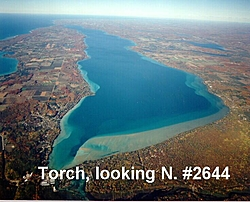 Oso Get Together On Torch Lake To Help Oso Brother-torchaerial.jpg