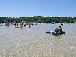Oso Get Together On Torch Lake To Help Oso Brother-torchlakesandbar.jpg