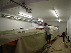 I started painting my new 30ft Liberator cat-30-taping-23.jpg