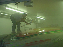 I started painting my new 30ft Liberator cat-30-spraying-clear-28.jpg