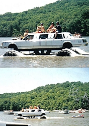 Your funniest fill the boat up story-floating-limo.jpg
