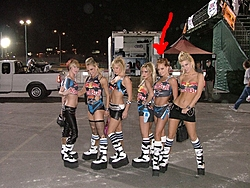 The RED BULL Girls  on the Dock helping With the Toys For Tots Tour-rrtt.jpg
