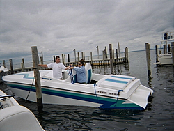 A Day at Flynn's in Fire Island-babe-tiening-boat.jpg