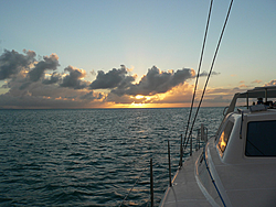 T2x is off to the BVI's-sunset.jpg