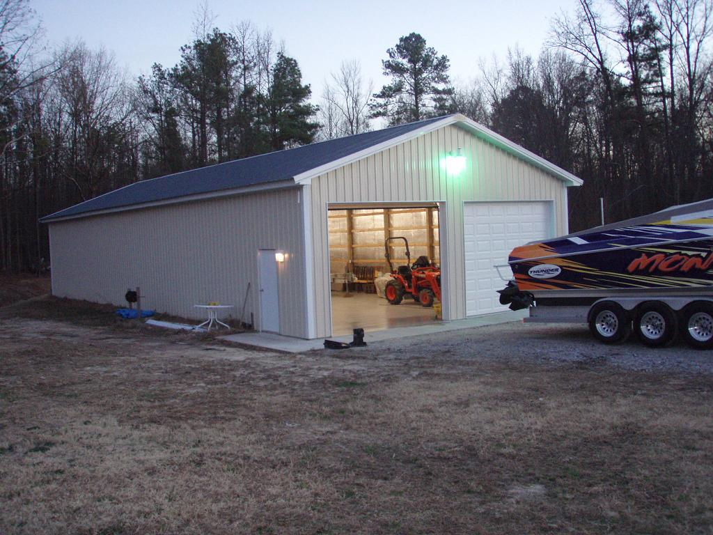 Steel Buildings For Boat Storage... Condensation?