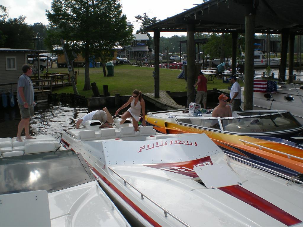 Lake conroe poker run