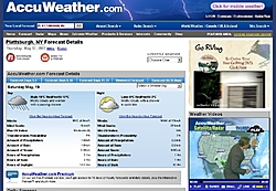 Route for Lake Champlain - May 19th 2007-accuweather.jpg