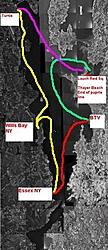 Lake Champlain NY/VT Gathering & Run August 2nd, 2003-route2.jpg