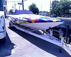 Anyone know this Bat Boat?-bow.jpg