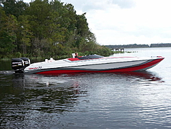 Videos and pics. Just finished a new 30ft Liberator cat. FINALLY!-30ft-side-water.jpg