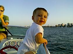 Let' See thoose Favorite Summer Pics....-hannah-boat.jpg
