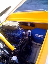 A/C and Honda Gen installed-38'Scarab-gen-covered.jpg