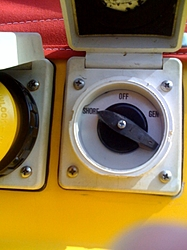 A/C and Honda Gen installed-38'Scarab-shore-power-switch.jpg