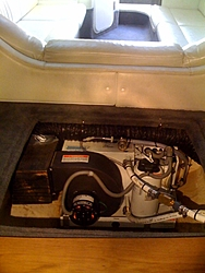 A/C and Honda Gen installed-38'Scarab-photo.jpg